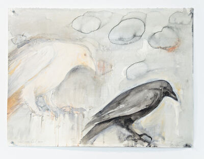 Jane Rosen, 'WHITE RAVEN BLACK RAVEN', 2016