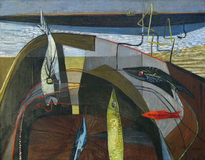 Virginia Banks, 'Basket of Line and Bait', 1949