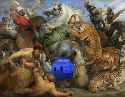 Jeff Koons, 'Gazing Ball ( Rubens Tiger Hunt)', 2017