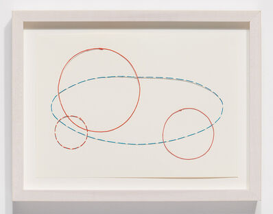 Nina Katchadourian, 'Equator Drawing #2', 2020
