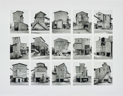 Bernd and Hilla Becher, 'Kies-und Schotterwerke (Gravel Plants), image III, from Typologies series', 2006