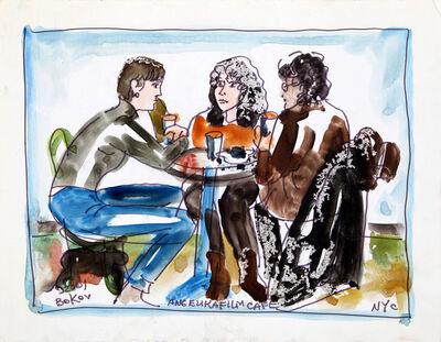 Konstantin Bokov, 'Friends at Angelika Film Center, NYC', 2001