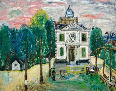 Carlos Nadal, 'La casa en rosa', 1973