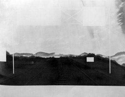 Alfred Leslie, 'Approaching Springfield, Massachusetts ( from 100 Views Along the Road)', 1983