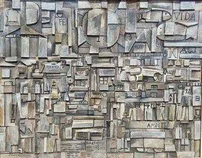 José Gurvich, 'Constructivo Montevideo, Vida, Tradición y Fe', ca. 1960