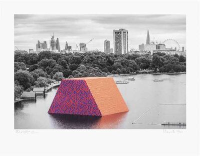 Christo and Jeanne-Claude, 'The London Mastaba', 2018