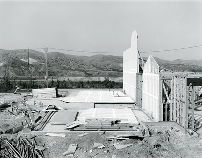 Joe Deal, 'Duplex Dividing Wall, Anaheim Hills, California', 1984