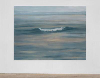 Guillaume Leblon, 'Still wave (grey)', 2016