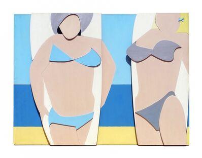 Peter Allen Powditch, 'Board Girls', 1968