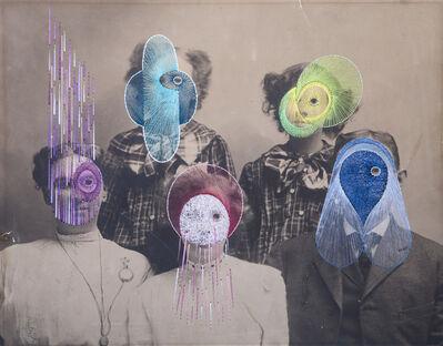 Maurizio Anzeri, 'The All Family', 2015