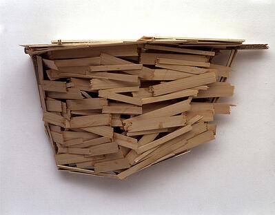 Tadashi Kawamata, 'Swiss Balcony Study (1)', 2002