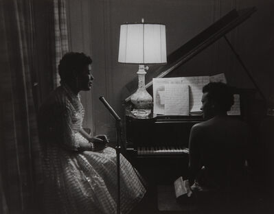 Roy DeCarava, 'Billie Holiday and Hazel Scott at a Party', 1957-printed later