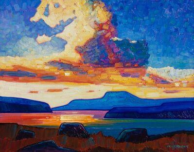Nicholas Bott, 'B.C. Coast Sunset', 2017