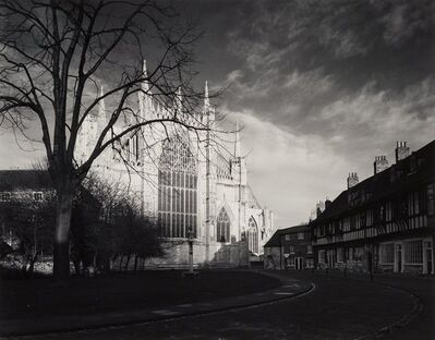 Bruce Barnbaum, 'Sunrise, York Minster, England', 1981