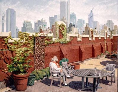 Frédéric Lère, 'Hell's Kitchen Rooftop Garden', 2020