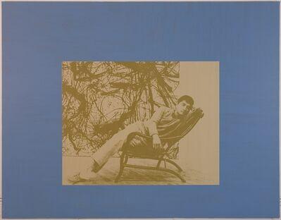 David Diao, 'Lying 2', 2000