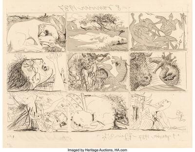 Pablo Picasso, 'One Plate, from Suenos Y Mentira de Franco', 1937