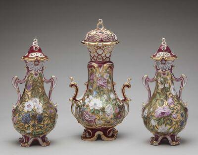 Chelsea Porcelain Factory, 'Three-piece garniture', ca. 1760