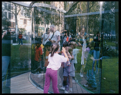 Dan Graham, 'Fun for Kids at my Work in a Park in Manhattan (for Parkett 68)', 2003