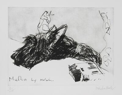 Malcolm Morley, ' Melba by Malcolm', ca. 1980