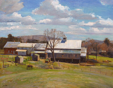Joel Babb, 'The View from the Knoll, Morrill Farm, Sumner, Maine', 2011