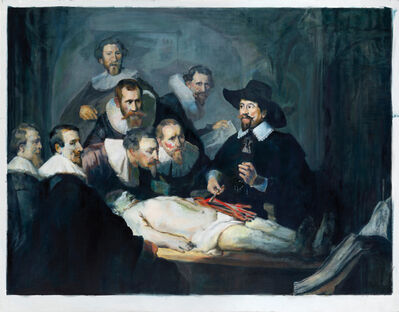 Jochen Plogsties, '1_14 (Anatomie des Dr. Tulp)', 2014