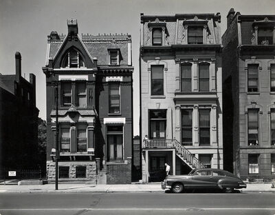 Harry Callahan, 'La Salle Street, Chicago'