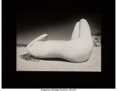 James Fee, 'Nude on the Beach (three photographs)', circa 1970s