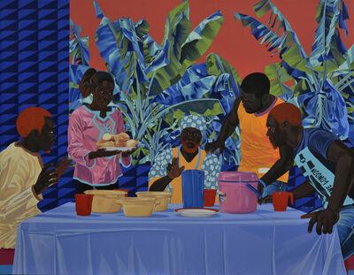 Marc Padeu, 'Le souper a Penja', 2019