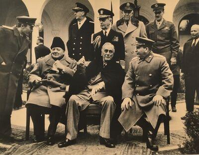 Samary Gurary, 'Churchill, Roosevelt and Stalin in Yalta', 1945