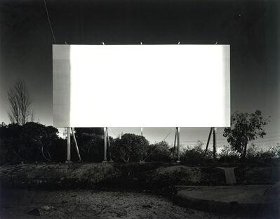 Hiroshi Sugimoto, 'Stadium Drive-in Orange', 1993