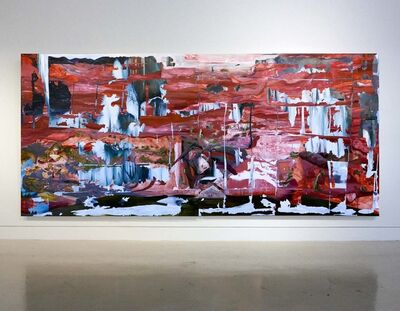 Joshua Hagler, 'White Room Redroom', 2018