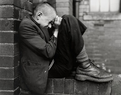 Chris Killip, 'Youth on a Wall, Jarrow, Tyneside', 1976