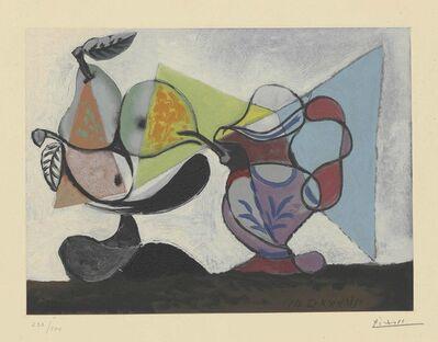 Pablo Picasso, 'Nature morte aux poires et au pichet', circa 1960