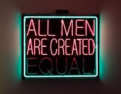 Patrick Martinez, 'equality', 2016