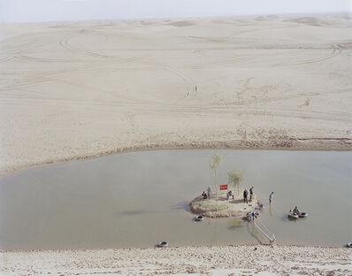 Zhang Kechun, 'Lake in the desert 沙漠里的湖', 2015