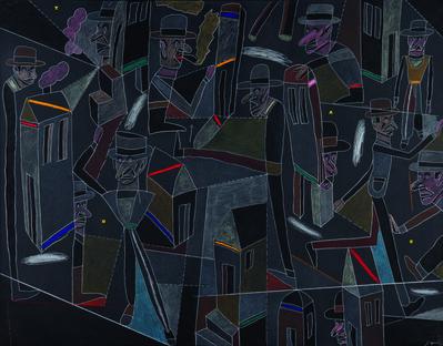 Antonio Seguí, 'Ardoise', 1988