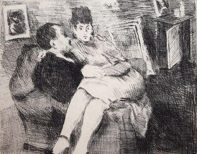 Raphael Soyer, 'Intimate Interior', 1975
