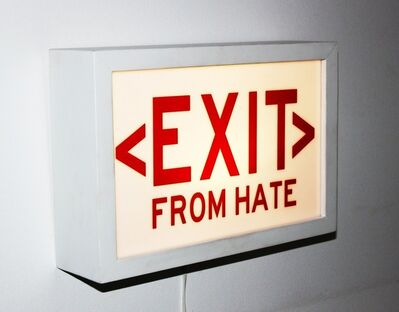 Cabell Molina, 'EXIT from HATE', 2017