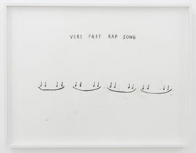 Christine Sun Kim, 'Very Fast Rap Song', 2016