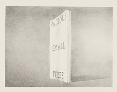 Ed Ruscha, 'Various Small Fires (from Book Covers)', 1970