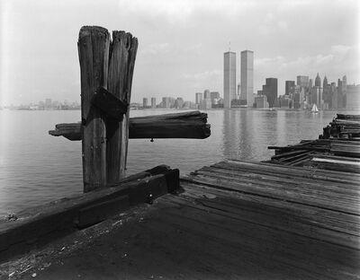 George Tice, 'Hudson River Pier, Jersey City', 1979