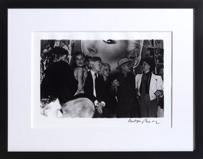 Anton Perich, 'Interview Magazine Party (including Andy Warhol, Jerry Hall, Debbie Harry, and more)', ca. 1983