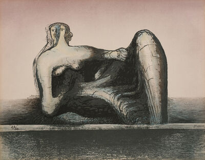 Henry Moore, 'Reclining Figure', 1977