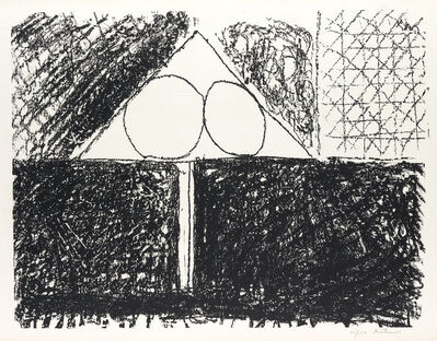 Robert Motherwell, 'Madrid Suite, Number 3', 1965-66