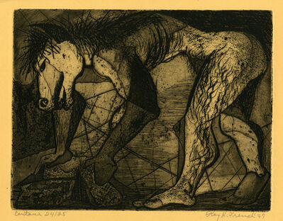 Ray H. French, 'Centaur', 1947