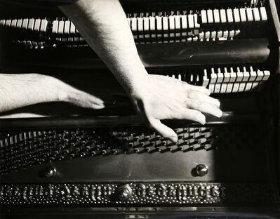 Giuseppe Chiari, 'Gesti sul piano', 1973