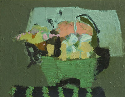 Jennifer Hornyak, 'Petit panier vert', 2016