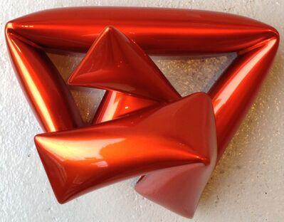 Willi Siber, 'Wall Object (orange)', 2013