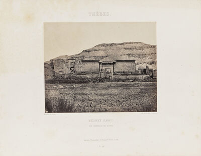 Maxime Du Camp, 'Eleven Plates from Egypte, Nubie, Palestine et Syrie', 1852